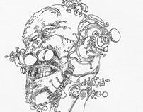 Cyborg Robot Replica - Konstantinos