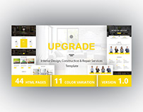 UPGRADE - Interior Design, Construction, Repair Service