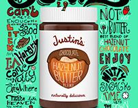 Justin's Hazelnut Butter Product Advertisement