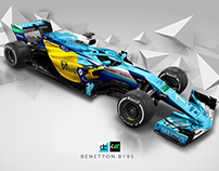Re:imagined - Benetton B195 livery