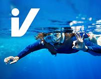 The logo of the Divetrek company
