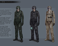 Character Concept: Fighter Pilot