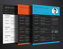 Free Creative Clean Resume Template for Any Job Seeker