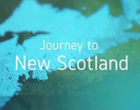 Journey To New Scotland titles & graphics