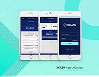 XCASH App Design