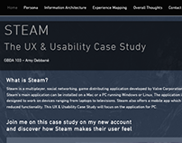 Steam UX & Usability Case Study