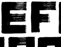 Big Sur - Hand-Painted Typeface