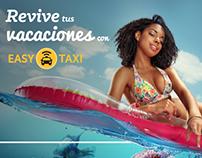 Campaña de Instagram - vacaciones Easy Taxi