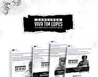 Identidade Visual - Concurso Viva Tim Lopes