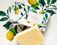 Soap packages to Magrada handcraft soaps