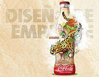 Design and illustration for Coca-Cola contour bottle