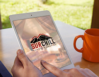 Logo - Surchill / Glamour camping
