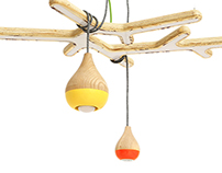 "Lamps ""Electric pears"""