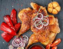 Grilled chicken for Braiseryy brand