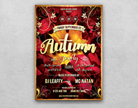Autumn Equinox Flyer Template V1