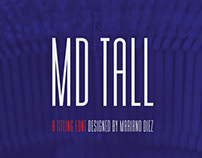 MD TALL - FREE CONDENSED FONT