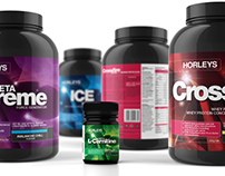 Horleys Elite Range Branding and Packaging, New Zealand
