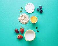 Food Photography (Pastel Colors) III