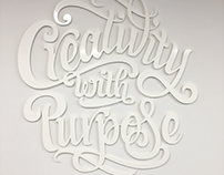 Various Projects (lettering)