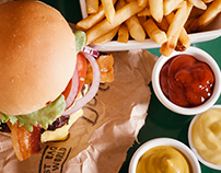 Studio Burger Lifestyle Photos