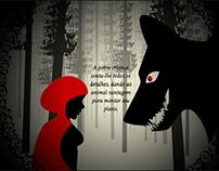 Chapeuzinho Vermelho - Ilustrado e Animado