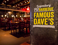 Famous Dave's. El Paso, Tx. Photo Shoot