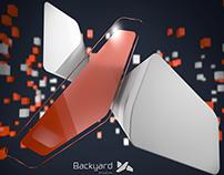 3D Logo of Backyard studios