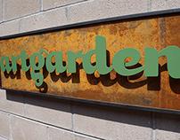 artgarden signage.