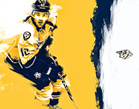 Nashville Predators - Graphic Design