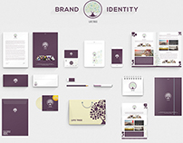 Life Tree Brand Identity Template Stationery