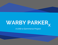 Warby Parker X eCommerce Site