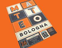 Matteo Bologna Lecture Poster
