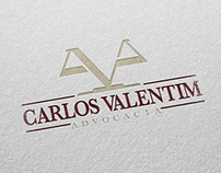 IDENTIDADE VISUAL - CARLOS VALENTIM ADVOCACIA