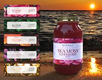 Blend label design