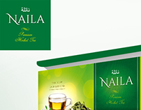 NAILA Tea | Herbal Tea | Packaging development