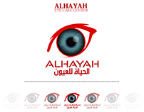 ALHAYAH Eye Care Center Logo Design