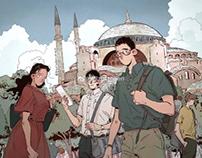 At Hagia Sophia