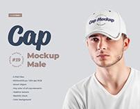 5 Mockups Men's Cap + 1 Free by december.dsgn