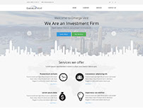 Investment Firm UI / Website Design