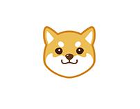 Shiba emoji 表情包:汪小德