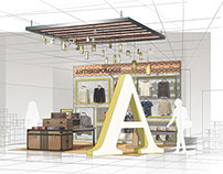 Anthropologie Store-In-Store