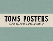 Toms poster Triptych