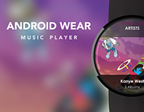 Android Wear Music Player