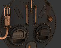 Basement Boiler Game Object