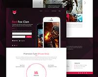 Red Fox Clan Website Redesign