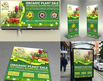 Plant Sale Show Advertising Bundle