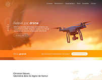 Website for a land surveyor who uses drones - 1day/1sit