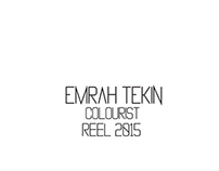 Emrah Tekin Colourist Showreel 2015