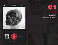 graphic design for Chuzu app