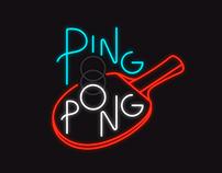 Ping Pong Neon